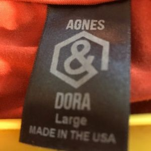 Agnes and Dora ruffle tunic